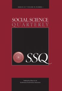 Social Science Quarterly journal